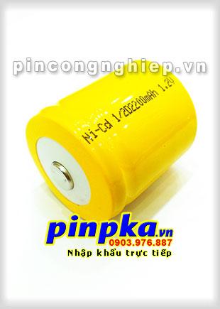 Pin Sạc Công Nghiệp-Pin Cell 1,2v NiCD 1/2D 2200mAh